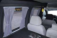 Автомобильные шторки Fiat Doblo- Фиат Добло серые