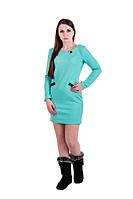 Платье женское динный рукав нарядное деловое короткое Gepur