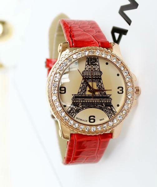 Часы кварцевые с Эйфелевой башней