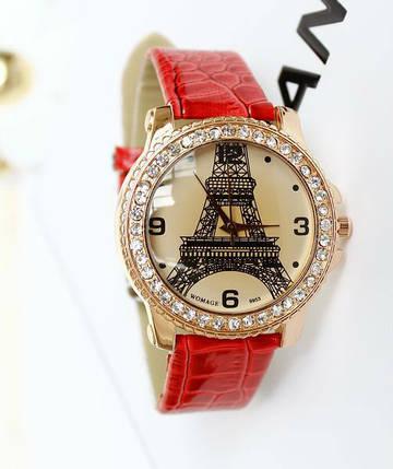 Часы кварцевые с Эйфелевой башней, фото 2