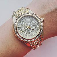 Женские часы с камушками Майкл Корс