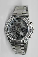 Женские наручные часы серебристые Ролекс
