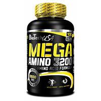 Амінокислоти BioTech Mega Amino 3200 100tab