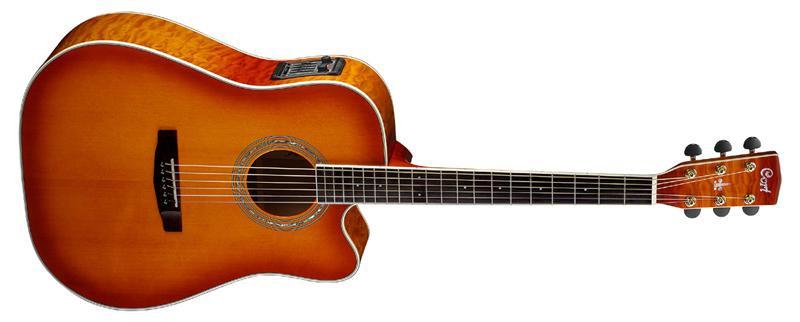 Акустическая гитара c датчиком Cort  MR780FX LVB*