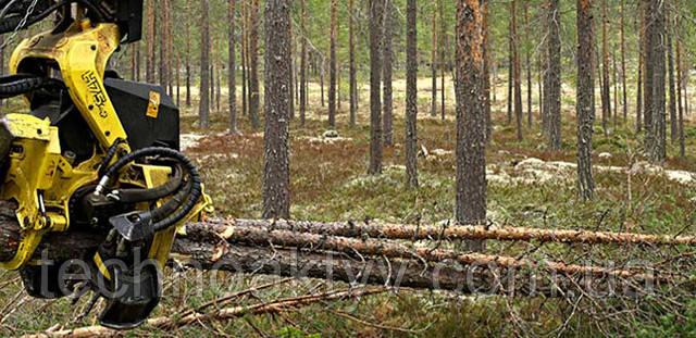 Древесное топливо   Пачковый захват  Головки с пачковым захватом