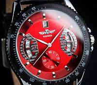 Часы Механические  Winner Black