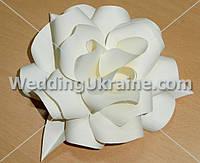 Бумажные цветы для оформления праздника