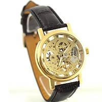 Часы Мужские механические  WINNER GOLD NEW