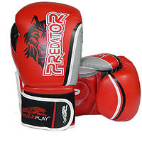 Боксерские перчатки PowerPlay Wolf - Predator series (3005) Red