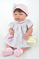 Кукла девочка Mio Mio в сером Dnenes/Carmen Gonzalez, 42 см