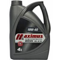 Масло моторное Maximus 10W-40 S/S DIESEL CG-4/SJ 4л
