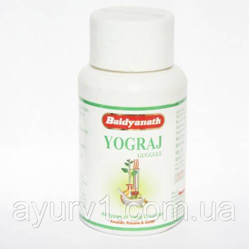Йогарадж гуггул, Бадьянатх / Yogaraj Guggul, Baidyanath / 120 таб