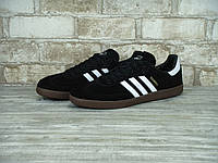 Кроссовки Adidas Samba Black/White мужские
