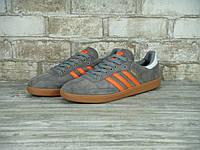 Кроссовки Adidas Samba Grey/Orange мужские