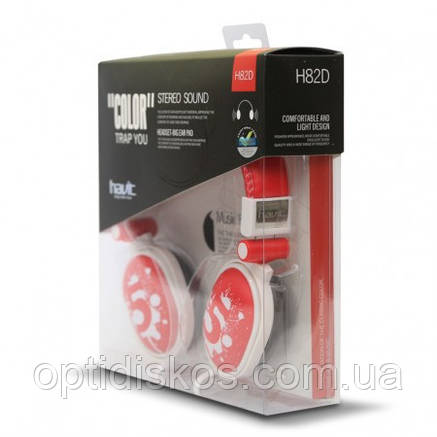Наушники HAVIT, HV-H82D, красные, фото 2
