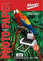 Фотобумага Magic A3 Glossy Photo Paper 180g 50 листов