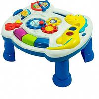 """Игровой музыкальный столик """"Динозавр"""" звук, свет, на батарейке, в коробке WD 3628"""