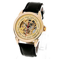 Механические мужские наручные часы скелетоны Winner