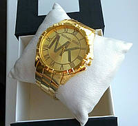Часы золотистые Майкл Корс