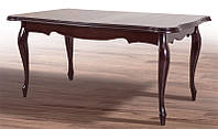 Стол обеденный раскладной буковый Royal темный орех