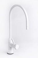 Кран для фильтров воды белый