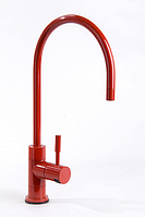 Кран для фильтров воды красный