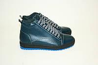 Ботинки  Oscar Fur 16160cин.х. Синий, фото 1