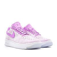 Кроссовки женские Nike airr force flyknit low purple. магазин найк, найк форс