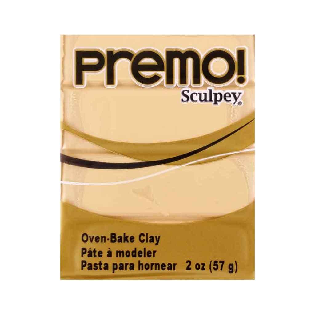 Полимерная глина Sculpey Premo Премо (США, Полиформ), 56 г,  беж 5092
