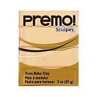 Sculpey Premo Премо (США, Полиформ), 56 г, экрю беж 5093