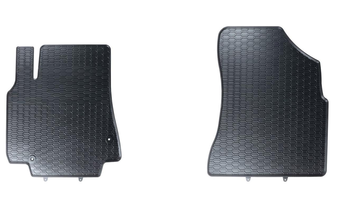 Килимки в салон для Citroen Berlingo II (08-) / Peugeot Partner (08-) (2шт) 845/2C