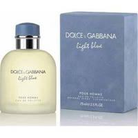 Мужская парфюмерия Dolce Gabbana Light Blue Pour Homme 125 ml