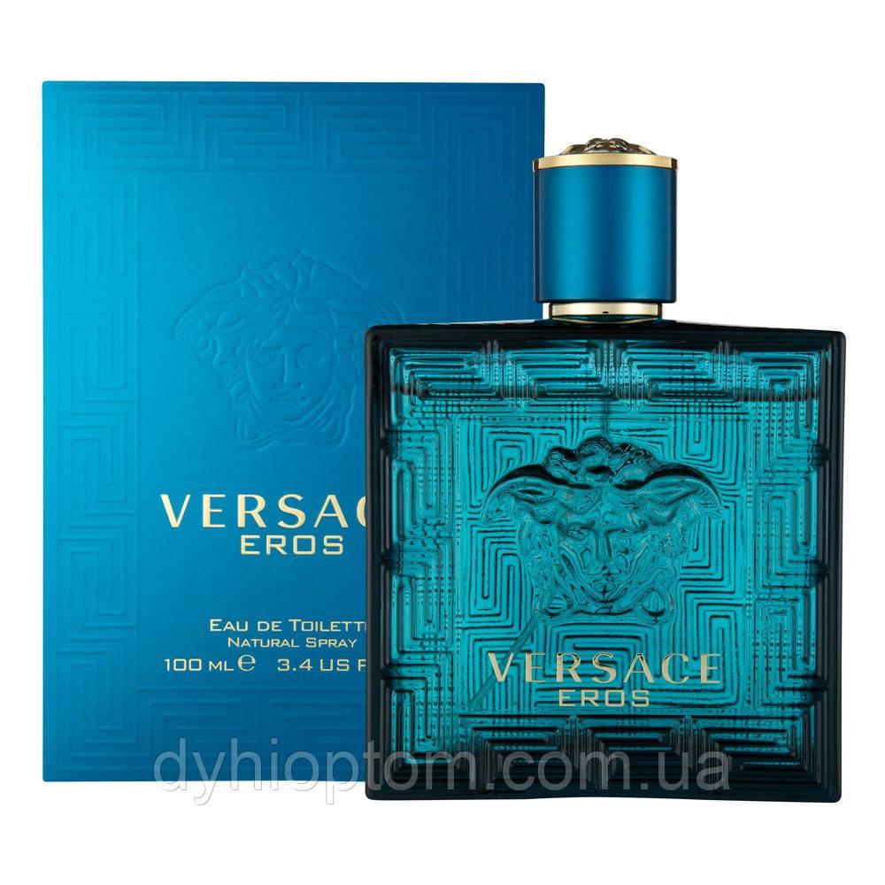 Брендовая парфюмерия Versace Eros For 100ml оптом