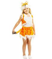 Карнавальный костюм лисички детский