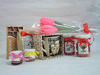 Подарочный набор+Букет из конфет Арт.124