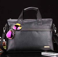Большая деловая мужская сумка-портфель Polo
