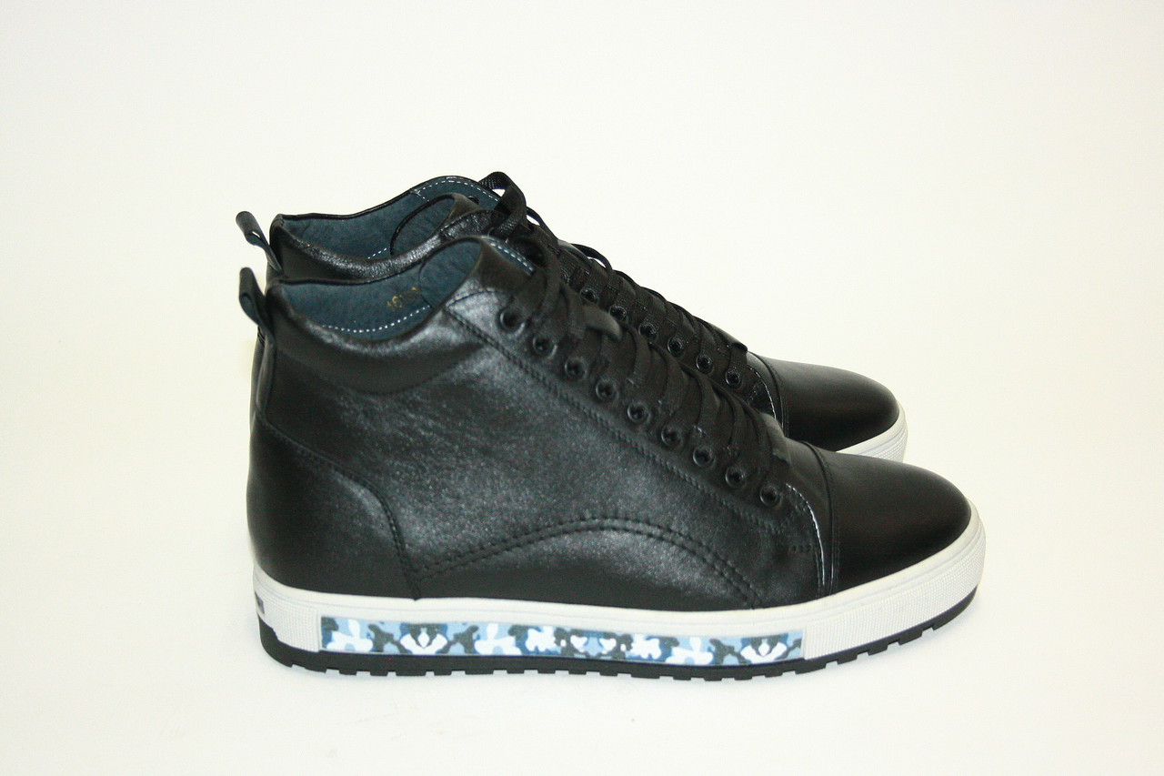 Зимние мужские ботинки/ man shoes 16160 ч.х.