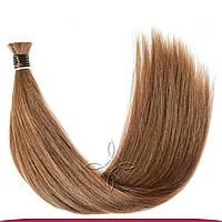 Натуральные славянские волосы в срезе 45-50 см 100 грамм, Шоколад №05