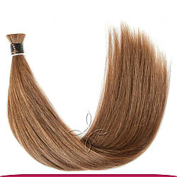 Натуральные Славянские Волосы в Срезе 70 см 100 грамм, Шоколад №05