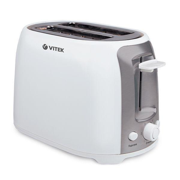 Тостер Vitek/750 Вт VT-1582 W