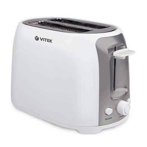 Тостер Vitek/750 Вт VT-1582 W, фото 2