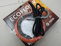 Тонкий нагревательный кабель под плитку FENIX (  с крепежом и гофрой ) 0.8 м.кв , фото 1