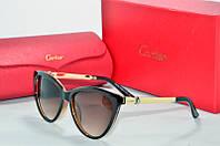 Солнцезащитные очки Cartier черные