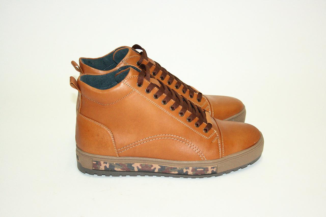 Ботинки Oscar Fur 16160-1 Коричневый
