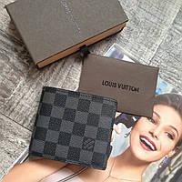 Мужское портмоне Louis Vuitton кожаный портмоне мужской кошелек кожаный луи витон