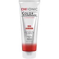 """Оттеночный кондиционер """"Красно-золотисто-каштановый"""" CHI Ionic Color Illuminate Conditioner Red Auburn 251 мл"""