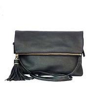 Женская кожаная сумка Velina Fabbiano натуральная кожа