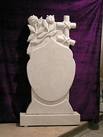 Памятник из мрамора  М - 137