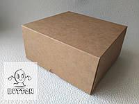 Коробка 165/165/80мм крафт