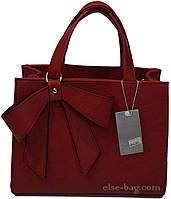 Женская сумочка с бантом